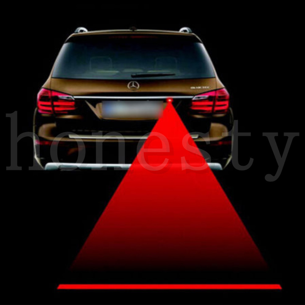 Feitong Car Red Laser Fog Rear Anti-Collision Safety Taillight Warning Signal Light Lamp Free Shipping&Wholesales