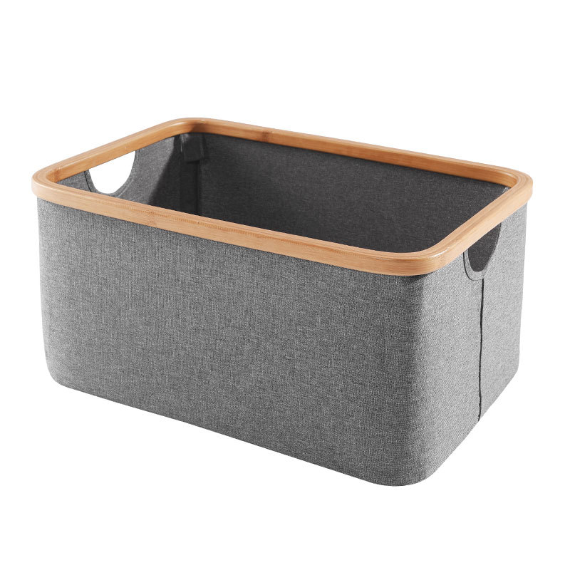Fabric Laundry Basket Bag Large Folding Dirty Clothes Sundries Toys Storage Baskets Box Home Decoration Woven Basket in Laundry Bags Baskets from Home Garden