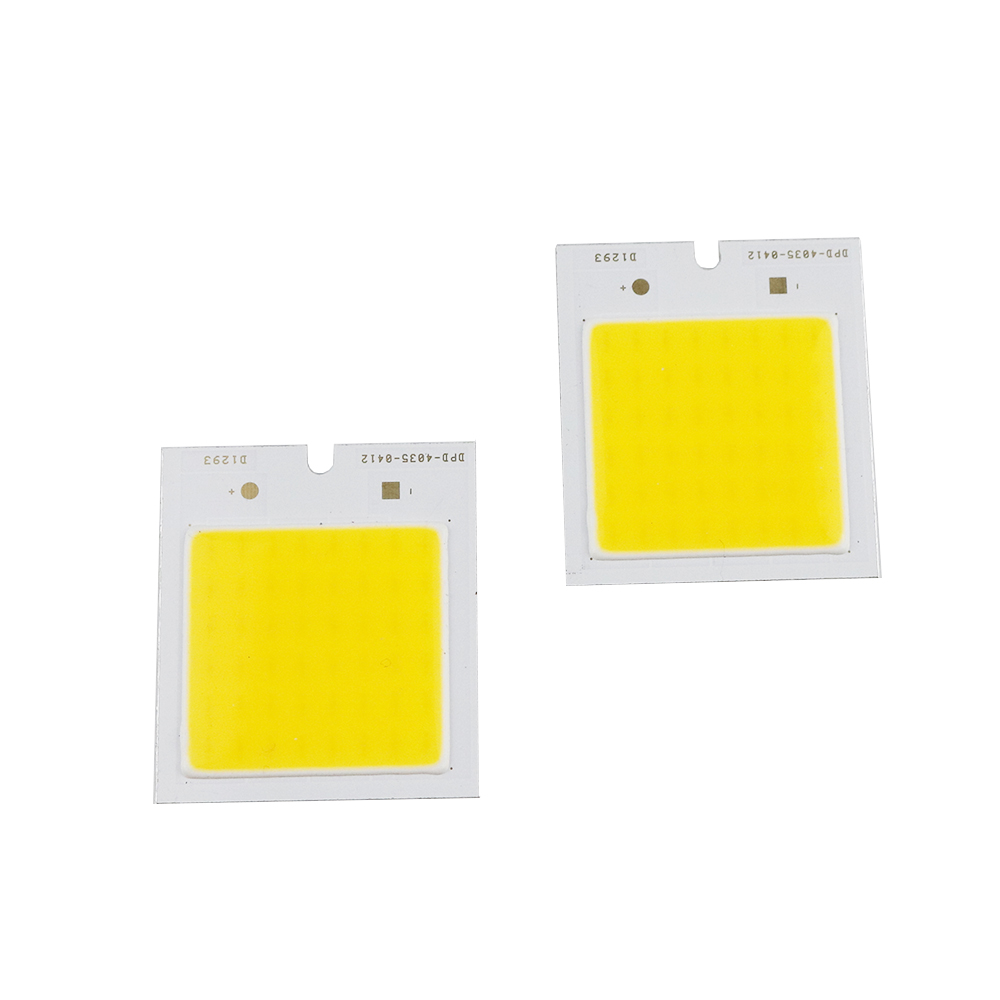 2pcs 3W Cob Led light Source Epistar Chip DC12V Ultra Bright 40*35mm Lamp DIY item for led bulb spotlight floodlight UW