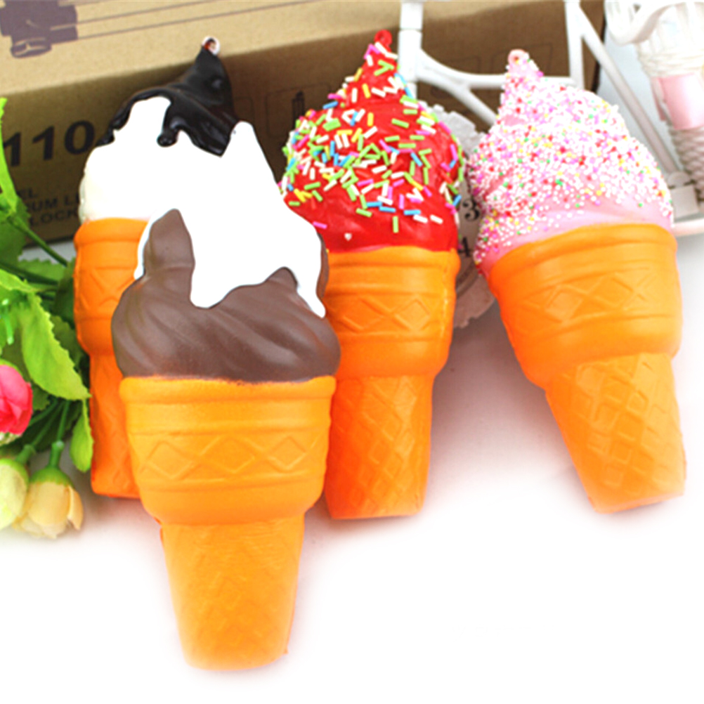 Mobile Phone Accessories Cellphones & Telecommunications Slow Rising Ice Cream Rainbow Kawaii Squishy Toys Stress Reliever Squishy Squeeze Antistress Ball Funny Gift 17x7cm