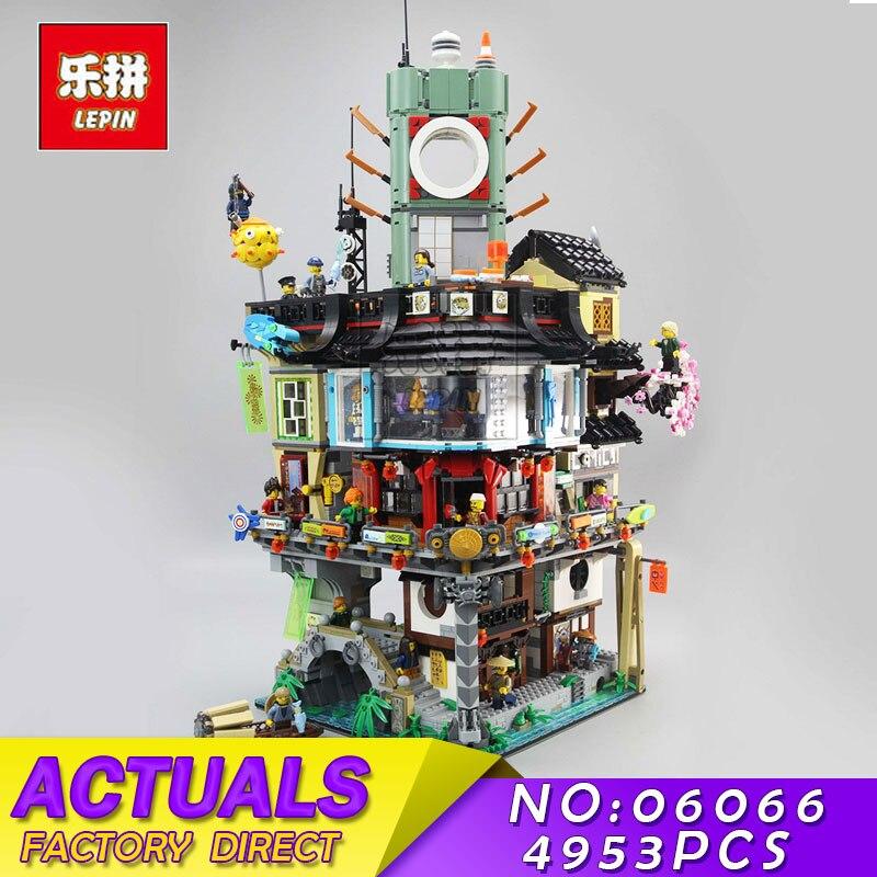 Lepin 06066 06022 Creative Ninja Series City Creator Construction Modular Building Blocks Bricks Masters Toys Compatible 70620