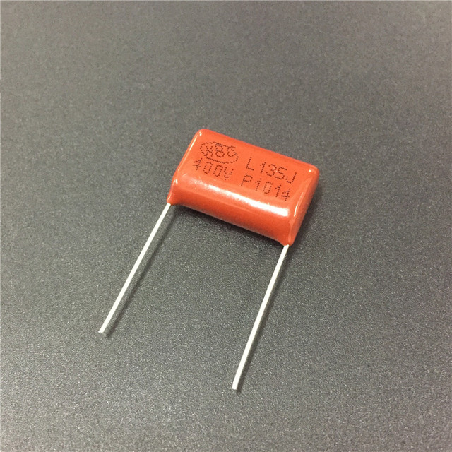 US $1 87 6% OFF|10pcs CBB capacitor 135 400V 135J 1 3uF P20 CL21 Metallized  Polypropylene Film Capacitor-in Capacitors from Electronic Components &