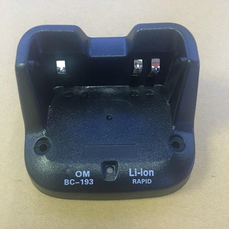 BC-193 pour BP265 Li-ion batterie seulement base chargeur de bureau pour Icom IC-V80 F3002 F3001 F4001 F3102 etc talkie walkie