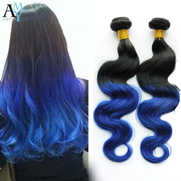 7a Unverarbeitete Reine Malaysische Haar Ombre Malaysian