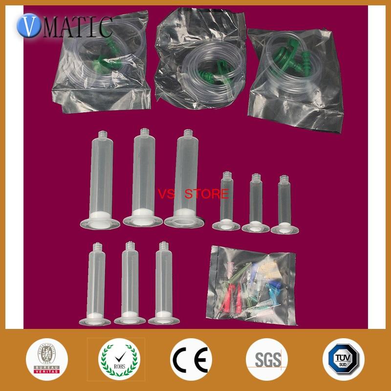 freeshipping 5/10/30CC Dispense Dispensing Needle Needles Tip Tips Syringe Barrel Valve Robot