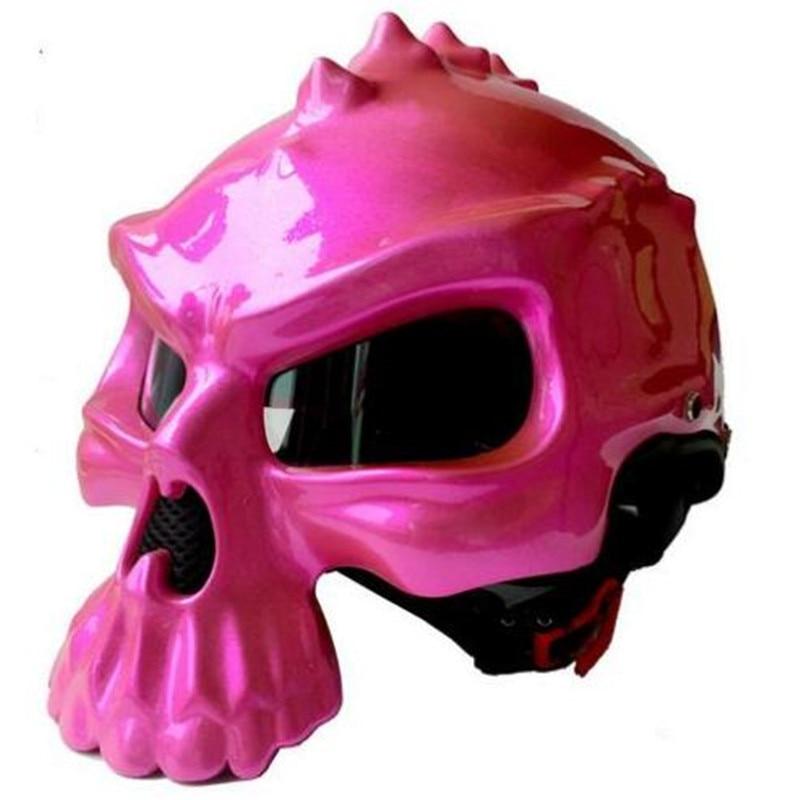 1pc 11colors 2017 Newest Brand Masei CG489 Motorcycle Skull Helmet Motorbike Half Face Helmets Capacetes