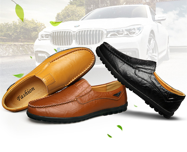 HTB1Pl8ravfsK1RjSszbq6AqBXXaN Genuine Leather Men Casual Shoes Luxury Brand Mens Loafers Moccasins Breathable Slip on Black Driving Shoes Plus Size 37-47