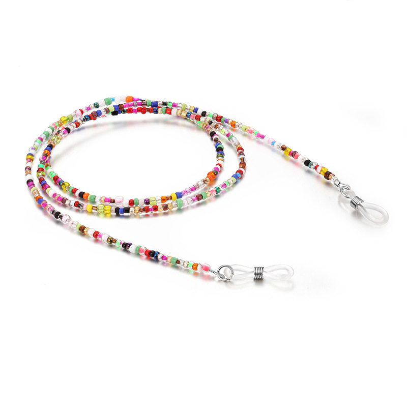 Colorful Acrylic Beads Chain Sunglasses Chains Women Reading Glasses Cord Holder Neck Strap Rope For Eyewear Accessories