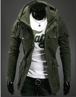 New product Supply Autumn and winter new Men are casual luxury jacket Trend personality Double collar XH995609