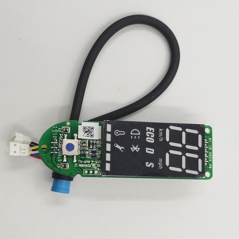 Pour Xiaomi M365 Pro tableau de bord Scooter électrique pour XIAOMI MIJIA M365 Pro Scooter BT Circuit imprimé Original avec couvercle d'affichage
