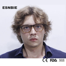 ESNBIE Acetate Square Women Eyewear Optical Glasses Frame Men Full Rim  Mens Prescription Frames armacao de oculos mas