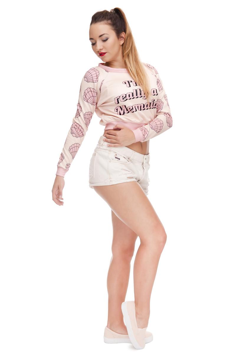HTB1Pl9pLXXXXXbAXVXXq6xXFXXX3 - Women Sweatshirt Mermaid 3D Printed girlfriend gift ideas