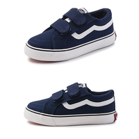 New Spring Children Top Quality Canvas Causal Shoes Sport Breathable Boys Girls Sneakers Kids Flat Canvas Shoes Size 24-37
