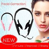 Подтяжка лица вверх щек ремень V-Line для похудения подбородок тонкая маска форма лица G524