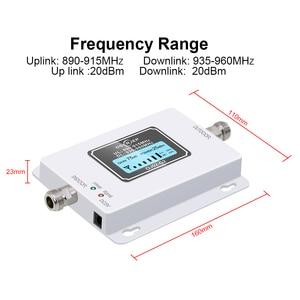 Image 2 - Led Screen Display GSM 900Mhz Umts 2G/3Gcelular MOBILE PHONE Signal Repeater 900MHz Amplifier + Yagi /Panel Antenna
