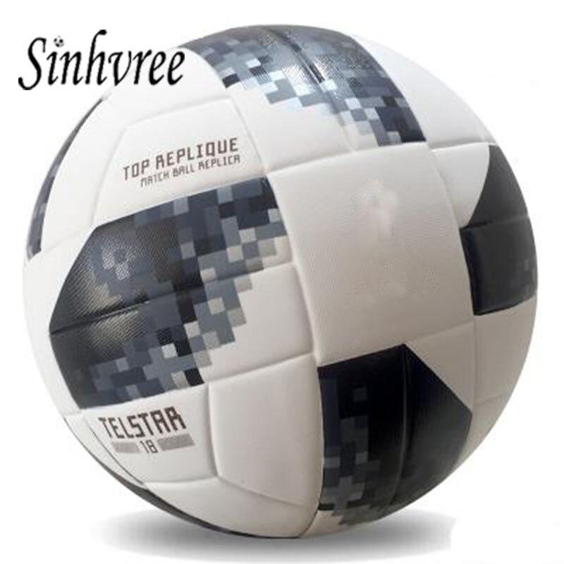 5f8d15108aaba 2019 Nova Rainha da Bola De Futebol Tamanho Oficial Tamanho 4 5 Campeonato  de Futebol Ao Ar Livre PU Jogo de Treinamento de Futebol Inflável Objetivo  futbol