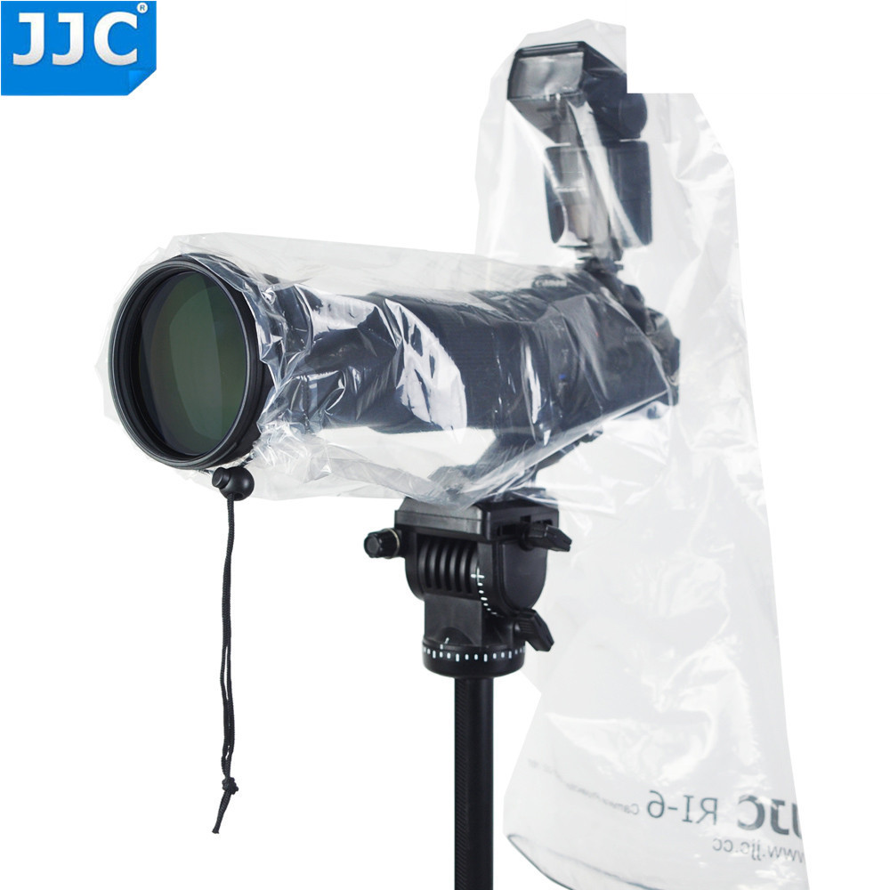 Jjc 2Pcs Digital camera Raincoat Waterproof Rain Cowl Raincoat Protector Case For Nikon/canon/sony/nikon/olympus With Flash Lens Tripod