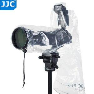 Image 1 - JJC 2PCS Wasserdichte Regenmantel Regen Abdeckung Fall Tasche Protector für Canon EF 24 70mm 1: 2,8 L USM Nikon SIGMA TAMRON DSLR Kameras