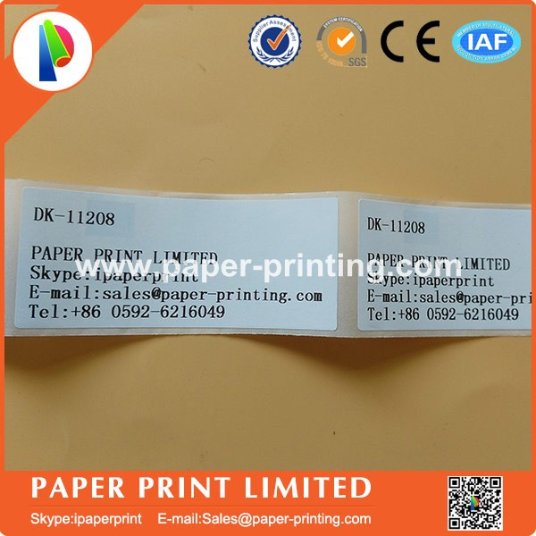 10 Rolls Brother-Compatible DK-11204 17mm x 54mm 400 Labels Per Roll With Refillable Cartridge