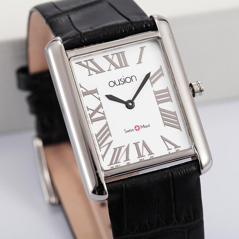 Couple Lover Watch Men Women Design Brass Quartz Analog Stretchable Wrist Watch Business Men