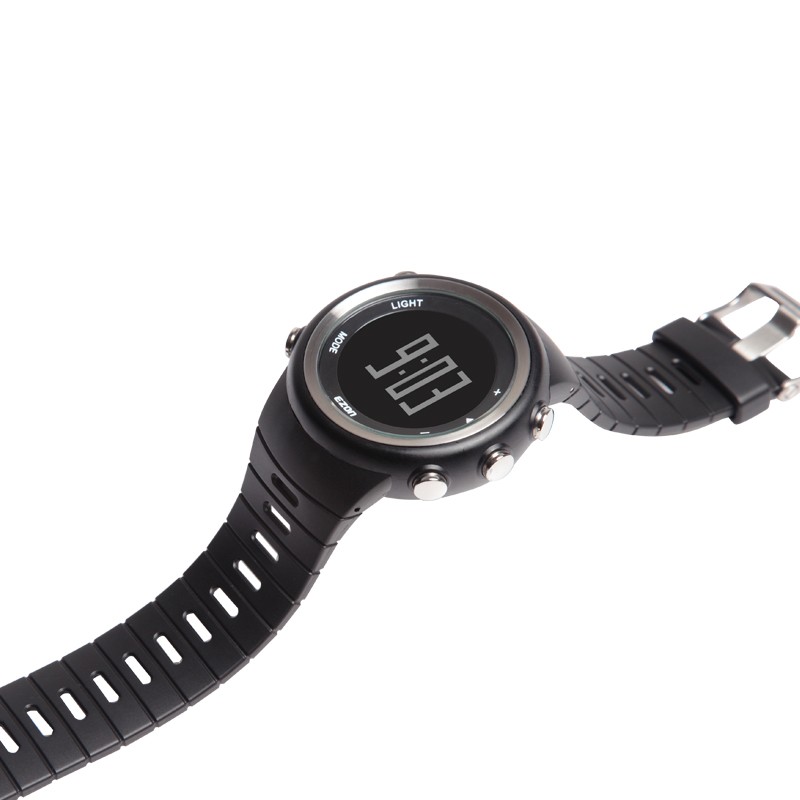 Original 25mm Black Silicone Rubber Watch Strap Waterproof Sports Watch Band For Wristswatch Sunroad Fr802a Fr720 Free Shipping Lover's Watches