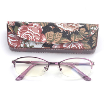 2018 Fashion High Quality Half frame  Reading Glasses Womens Retro Classicc oval women Reading Glasses+1.0~+4.0 with  box FML