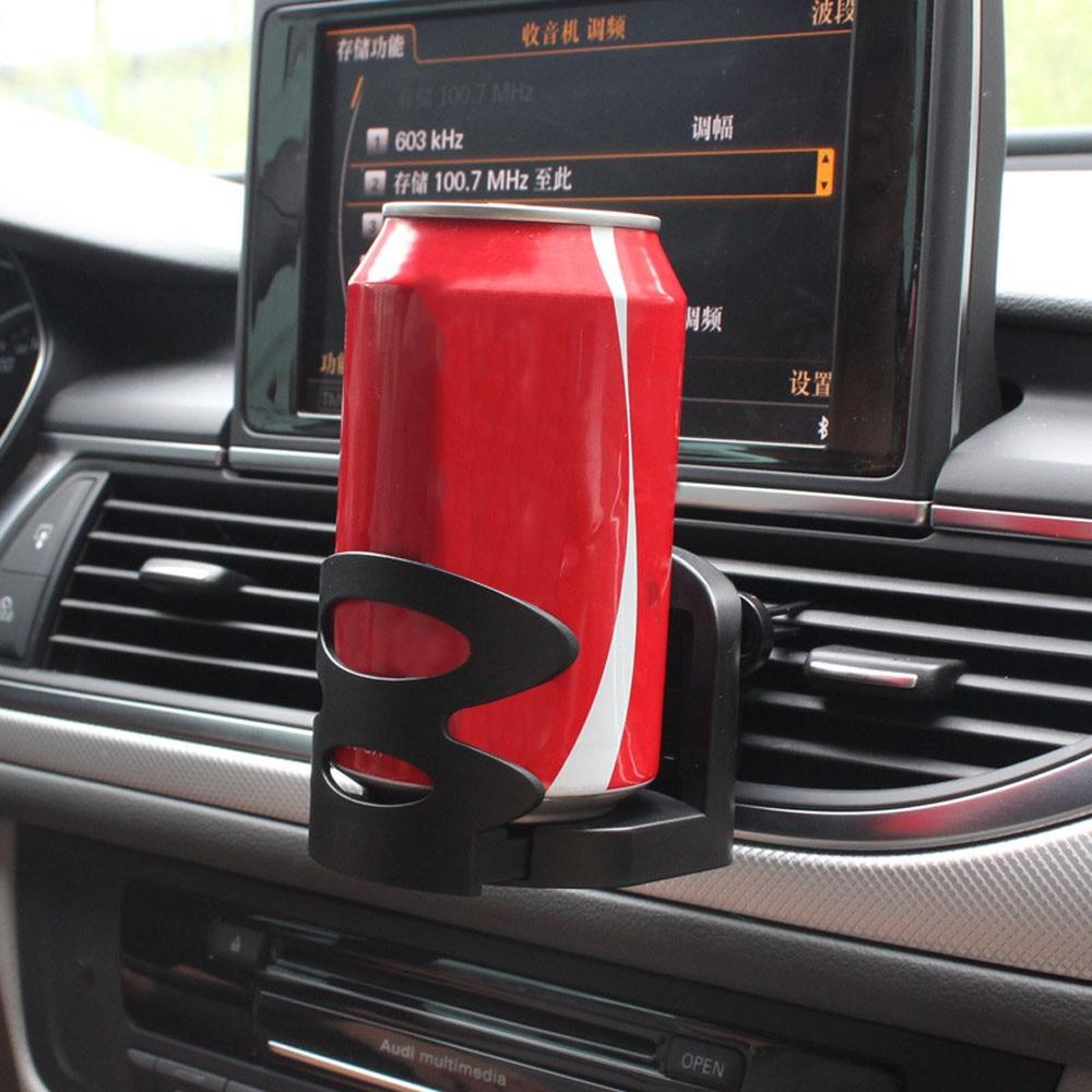 2016 new univesal car air vent outlet mount cups bottle drinks black stand holder bracket. Black Bedroom Furniture Sets. Home Design Ideas