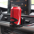 2016 Nueva Univesal Car Air Vent Soporte Soporte Holder Montaje de la Salida de Tazas de Bebidas Botella De Negro Interior Accesorios Envío Gratis