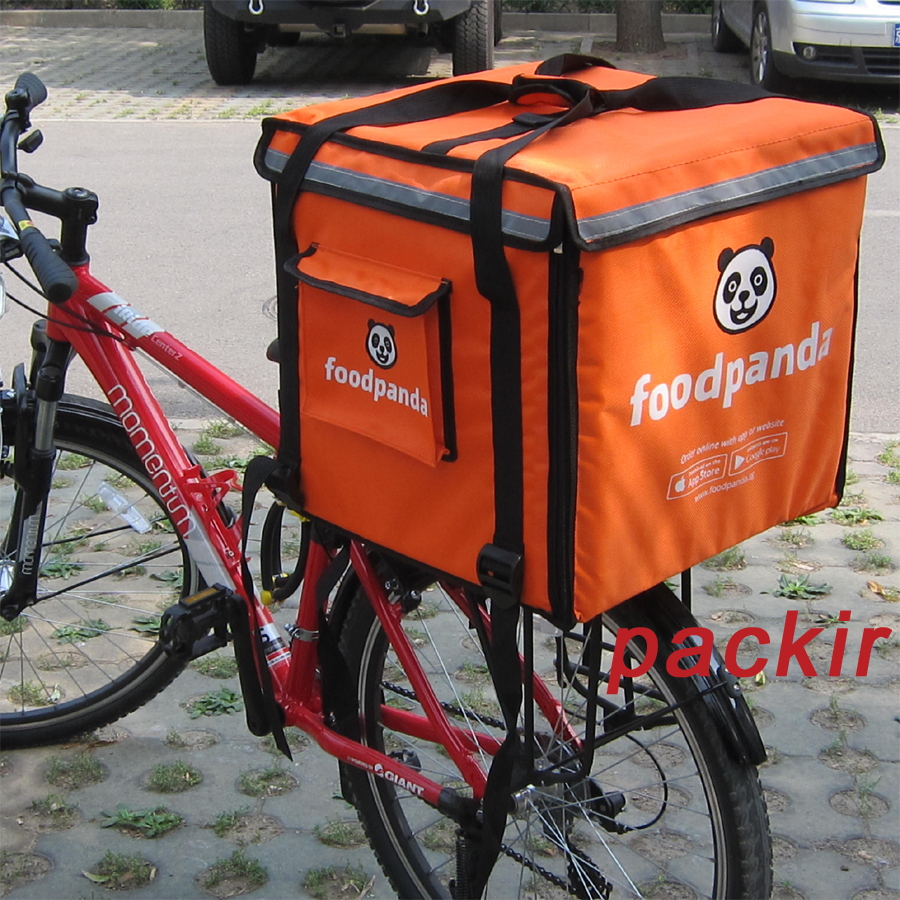 Pk 64c On Scooter Pizza Delivery Backpack Food Box