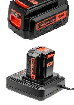 For Black & Decker 40V 3500mAh Li-ion Rechargeable Power Tool Battery LBXR36 BL2036 LBX2040 LST136,LST420,LST220 L10