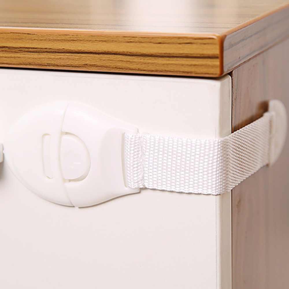 ปฏิบัติเด็ก Anti เปิดลิ้นชักล็อค Multifunction Baby Anti Pinch มือตู้ล็อคเด็กความปลอดภัยป้องกัน