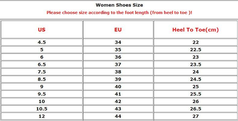 women - size