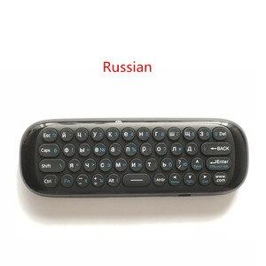 Image 2 - Wechip W1 Mini Air Mouse Gyro Sensing 2.4G Remote Contro angielska lub rosyjska bezprzewodowa klawiatura na inteligentny telewizor z androidem Box mini PC