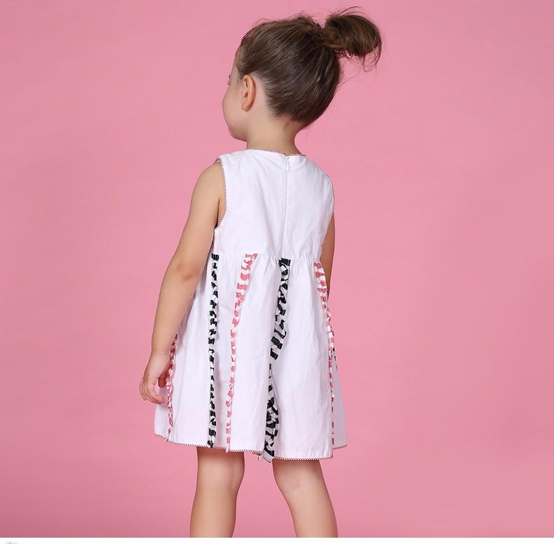 7a22755e9f5d 2016 Mùa Hè Váy Cô Gái Quần Áo Trẻ Em Bé Cotton Thiết Kế Áo Dài Cầu ...