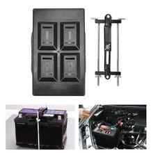 Металлический+ пластиковый автомобильный держатель для аккумуляторов стабилизатор лоток+ зажим для фиксации