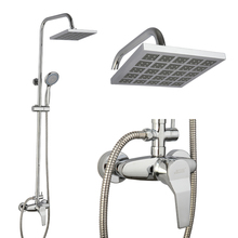 Polished Shower Mixer With All Stainless Steel Hot And Cold Bathroom Head Concealed Faucet