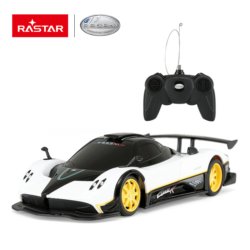 Rastar Licensed R/C 1:24 Pagani Zonda R Remote Control Electric RC Car Radio Remote Control RC Toy Cars new year 38010
