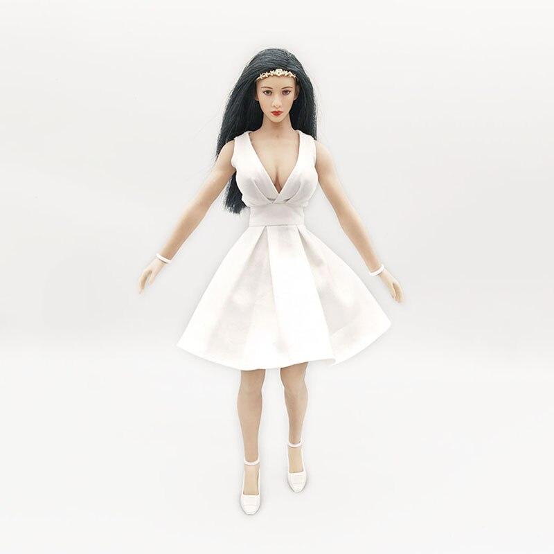 1/6th Female Soldier OL White Dress Model for 12 TBL