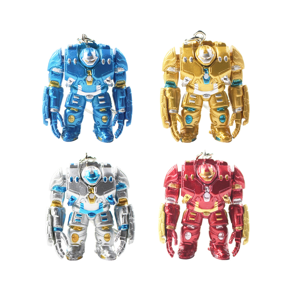 IRON MAN KEY CHAIN SUPERHERO MARVEL WAR MACHINE BLUE STEEL METAL MASK UK SELLER