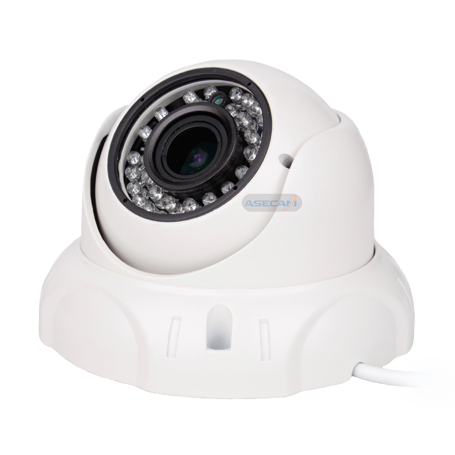 Super HD 3MP CCTV 1920P Zoom 2 8 12mm Lens Security AHD Varifocal Camera 36 LED Infrared Vandal proof Metal Dome Surveillance in Surveillance Cameras from Security Protection