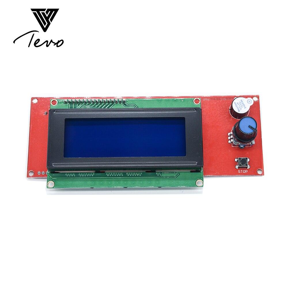 TEVO Tarantula 3D Printer parts LCD Display 3D Printer Reprap Smart Controller Reprap Ramps 1.4 2004LCD Control