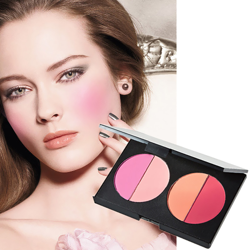 High Quality 4 Colors Blush Rouge Brand Makeup