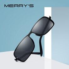 MERRYS tasarım klasik erkek HD polarize güneş gözlüğü sürüş erkekler için CR39 lensler UV400 koruma S8722