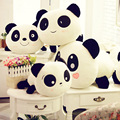 2017 New Lovely Panda Plush Toys Soft Stuffed Peluche Animals Toys  Doll Birthday Christmas Gifts Cartoon Model PP Cotton WW05