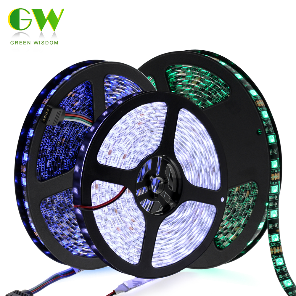5630 12V flexible light 60 leds/m LED strip,non waterproof 5m/lot White color,brighter than 5050