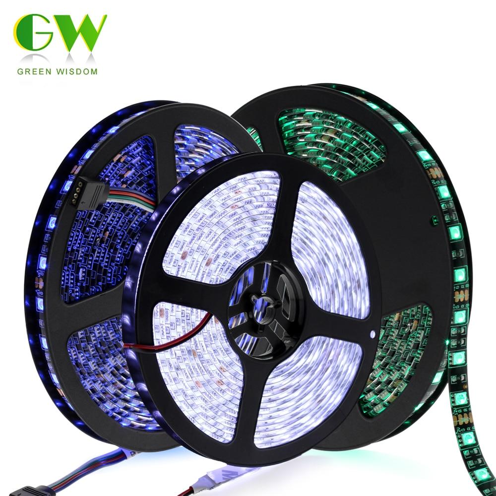 5630 12V flexible light 60 leds/m LED strip,non waterproof 5m/lot White color,brighter than 5050