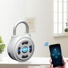 الذكية بلوتوث بدون مفتاح قفل للماء التطبيق زر مكافحة سرقة الباب كلمة الأمتعة قفل