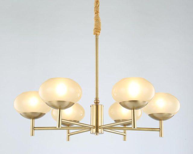 Modern full bronze copper chandelier for bedroom dining living room modern full bronze copper chandelier for bedroom dining living room round glass large chandelier lighting blc087 aloadofball Gallery