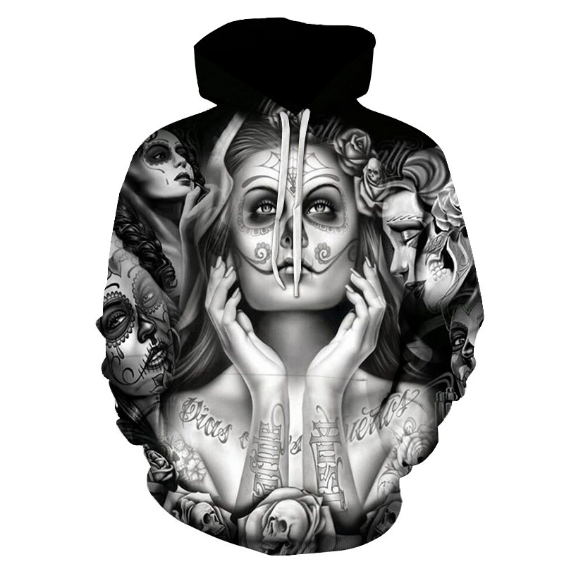 2019 Rese 3D Print Hoodie Elfen Lied Anime Hoody Young Classic Pullover Sexy Rabbit Men Cosplay Top in Hoodies amp Sweatshirts from Men 39 s Clothing