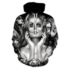 2019 Rese 3D Print Hoodie Elfen Lied Anime Hoody Young Classic Pullover Sexy Rabbit Men Cosplay Top